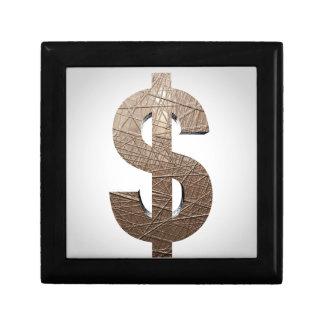 Muestra de dólar cajas de regalo