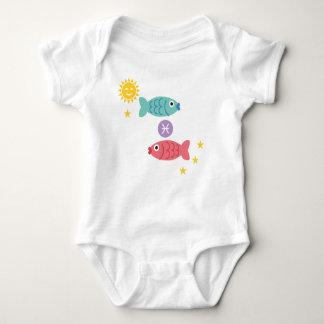 Muestra de la estrella del zodiaco del mono del body para bebé
