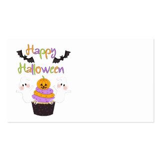 Muestra de la magdalena de Halloween Tarjetas De Visita