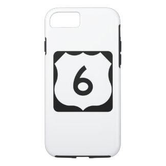 Muestra de la ruta 6 de los E.E.U.U. Funda iPhone 7