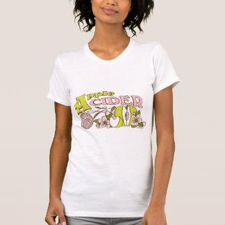 Muestra de la sidra de Apple Camisetas