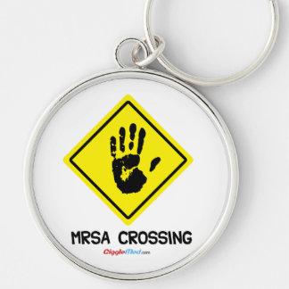 Muestra de la travesía de MRSA Llavero