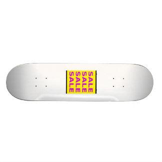 Muestra de la venta tablas de patinar