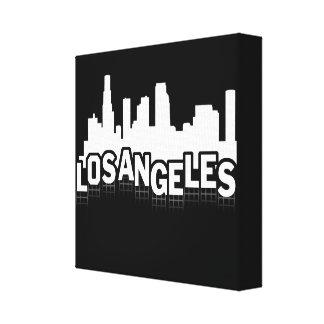 Muestra de Los Ángeles Impresión En Lona Estirada