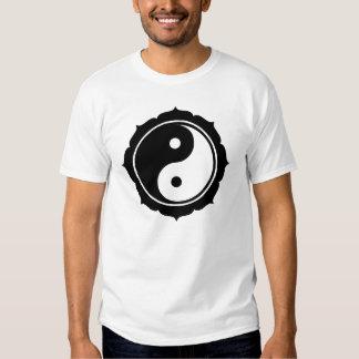 Muestra de Lotus Yin Yang Camiseta