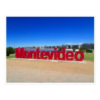 muestra de Montevideo Postal
