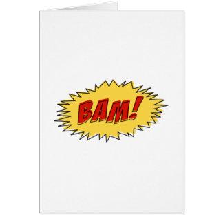 Muestra del Bam Felicitaciones