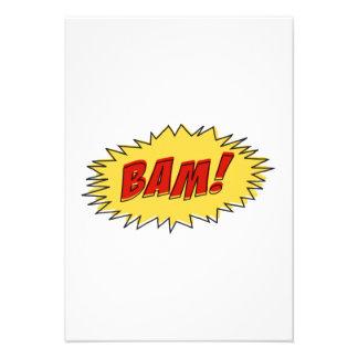 Muestra del Bam Anuncios Personalizados