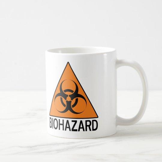 Muestra del Biohazard Taza De Café