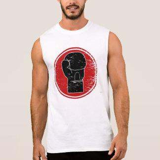 Muestra del boxeo camiseta sin mangas