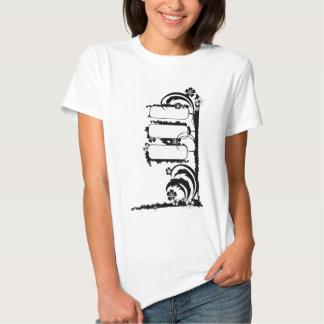 muestra del grunge camisetas