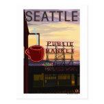Muestra del mercado del lugar de SeattlePike y opi Postal