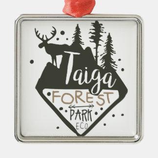 Muestra del promo del parque del eco del bosque de adorno de cerámica