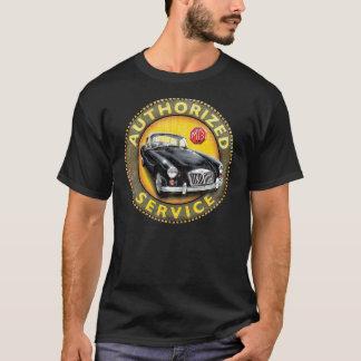 Muestra del servicio del cupé de MgA Camiseta
