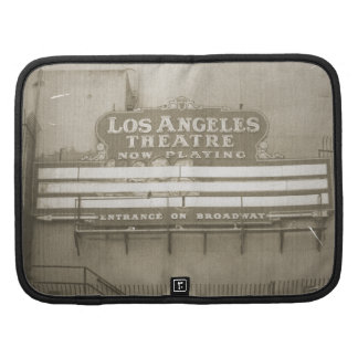 Muestra del teatro de Los Ángeles Planificador