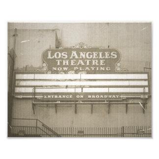 Muestra del teatro de Los Ángeles Fotografias