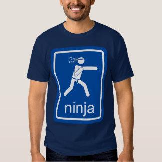 muestra del universal del ninja camisas
