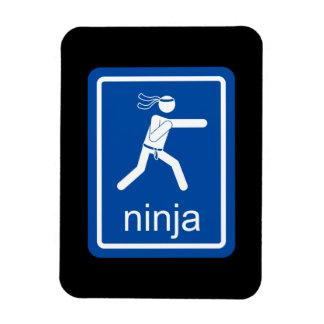 muestra del universal del ninja iman flexible