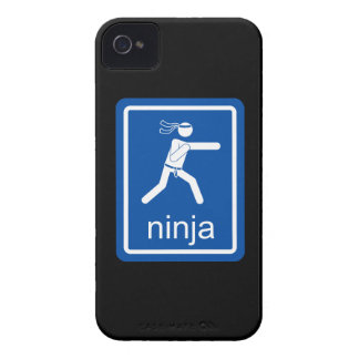 muestra del universal del ninja iPhone 4 Case-Mate protector