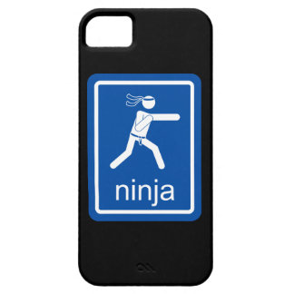 muestra del universal del ninja iPhone 5 Case-Mate funda