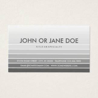 muestra gris tarjeta de negocios