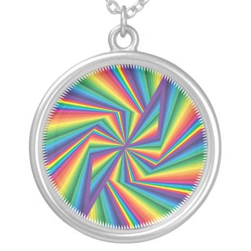 muestra infinita del color pendientes