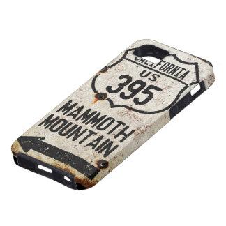 Muestra vieja oxidada de la carretera estatal 365 funda para iPhone SE/5/5s