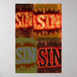 Muestras del pecado posters