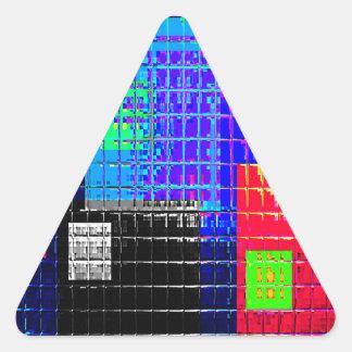 Muestras reconstruidas colcomanias trianguladas personalizadas