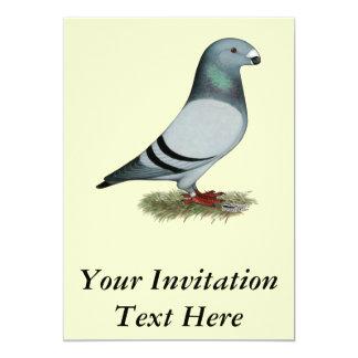 Muestre el concepto del corredor invitación 12,7 x 17,8 cm