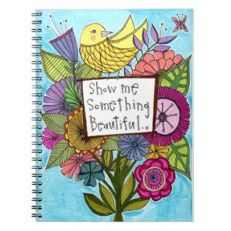 Muéstreme algo cuaderno hermoso
