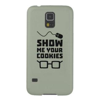 Muéstreme su friki Zb975 de las galletas Carcasa Galaxy S5