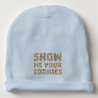 Muéstreme sus galletas Z52z4 Gorrito Para Bebe