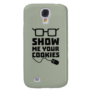 Muéstreme sus galletas Zx363 Funda Para Galaxy S4