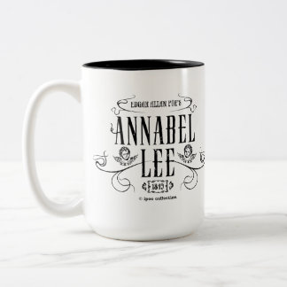 "Mug ""Annabel Lee"" Taza Dos Tonos"