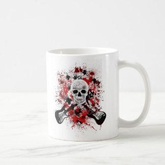 mug calavera taza de café