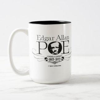 """Mug """"Edgar Allan Poe"""" Taza Dos Tonos"""