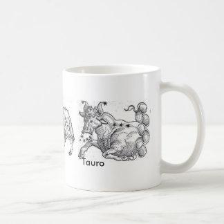 Mug Piscis Aries Tauro Taza De Café