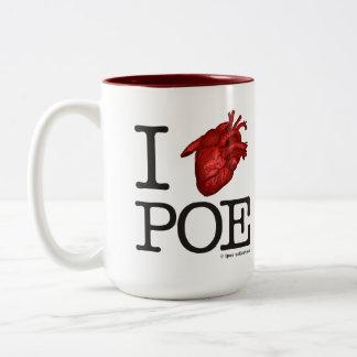 """Mug """"Poe Heart"""" Tazas De Café"""