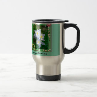 mug taza de viaje de acero inoxidable