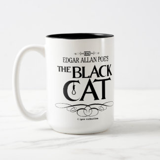 "Mug ""The Black Cat"" Taza Dos Tonos"