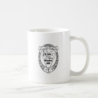mug: wake up taza