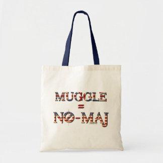 Muggle = No-Comandante Bolso De Tela