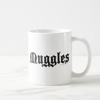 Muggles Taza Básica Blanca