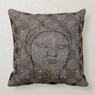 """Cojín Decorativo Mujer de la almohada de tiro de la tribu 20"""" x 20"""""""