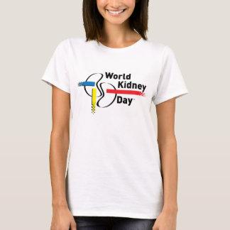 Mujer de la camiseta de WKD