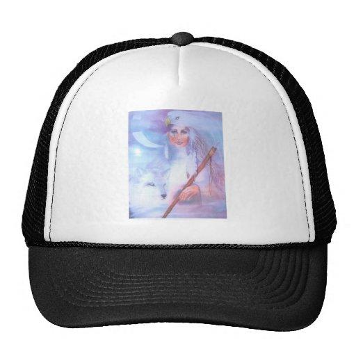 mujer de la medicina gorra
