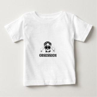 mujer de la obsesión camiseta de bebé