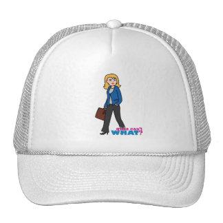 Mujer de negocios - luz/Blonde Gorras De Camionero