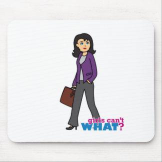 Mujer de negocios - medio alfombrilla de ratón
